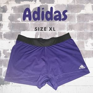 Adidas Purple Women's Workout Shorts Size XL